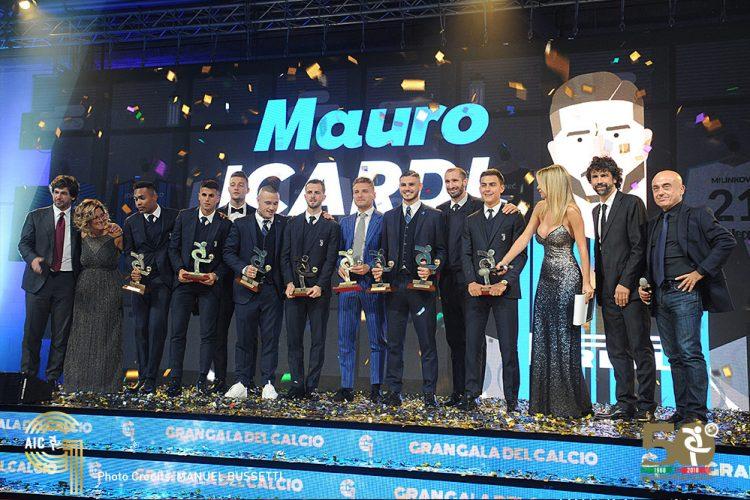 Gran Galà Del Calcio AIC 2018: Mauro Icardi è Il Calciatore Dell'anno!